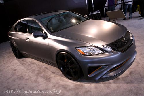 改装雷克萨斯GS-看暴眼球 08SEMA车展超级改装多图欣赏高清图片