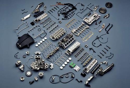 汽车奥秘 发动机内部构造及原理详解高清图片