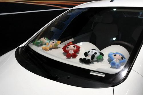 吉利熊猫3门纯电动车 广州车展即将亮相高清图片