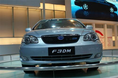 比亚迪F3DM抢先看 自主品牌混合动力车高清图片