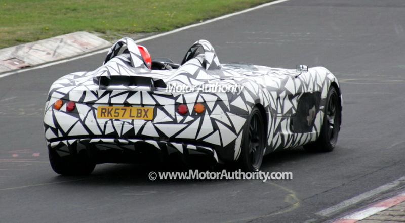 图 梅赛德斯 奔驰slr 772顶级性能版曝光高清图片