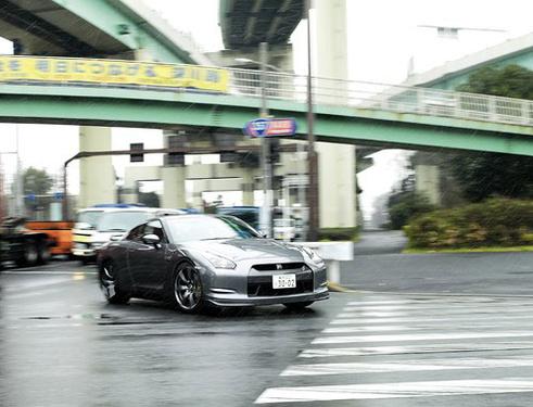 银座之战 GT-R与IS-F及EVO东京逐鹿