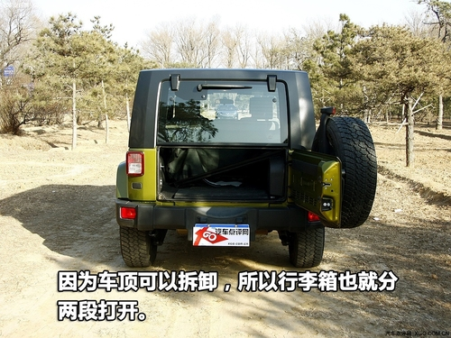美国精神的忠实者 Jeep牧马人内外详解