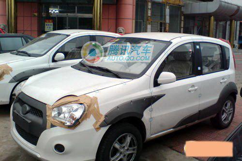 据悉,长城迷你suv整车尺寸为3569/1611/1595mm,比长城精灵高清图片