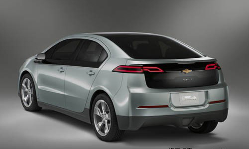 通用汽车还宣布,2010年量产版雪佛兰Volt电动车也将全面采用世界领高清图片