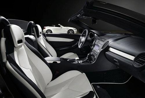 梅赛德斯-奔驰slk 2look的内饰高清图片