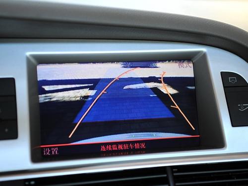 A6L独有倒车影像系统-谁是德系领头羊 宝马5系PK奔驰E 奥迪A6L