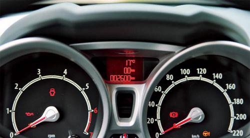小车仪表灯使用图解