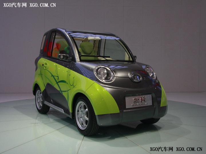 长城欧拉 09上海车展新车 车展新车高清图片