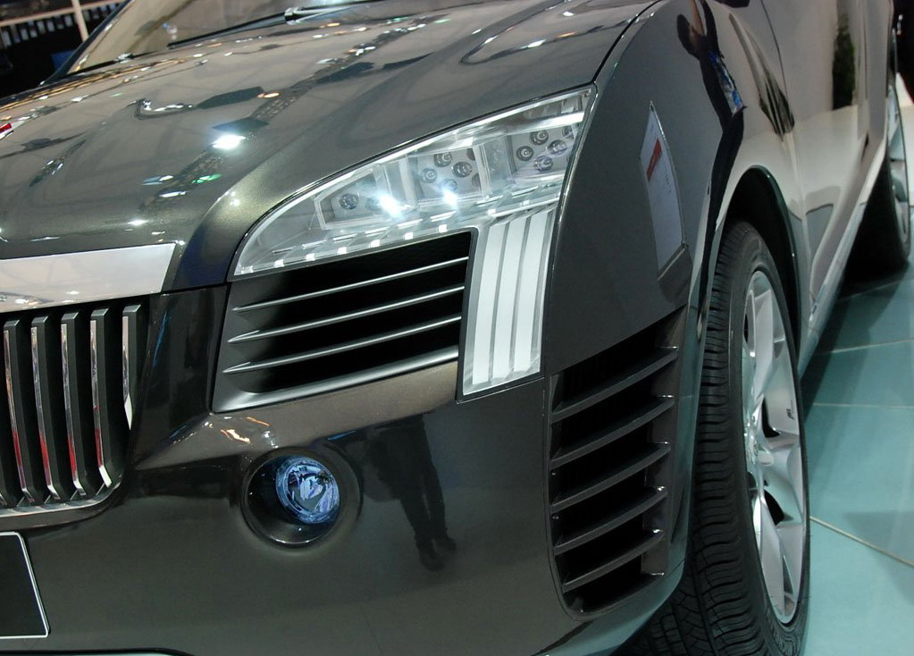 红旗发布SUV概念车 具体量产时间未知 图7高清图片