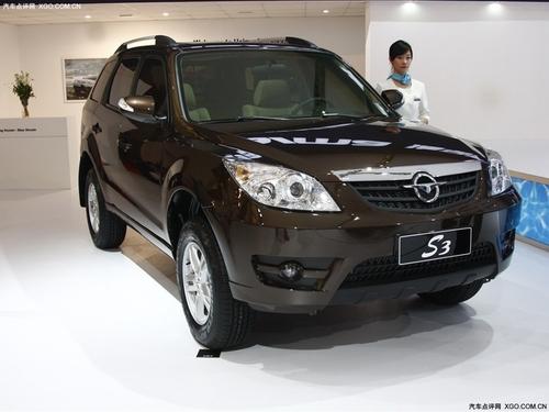 越野加休闲 海马首款SUV S3明年初将上市高清图片