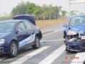 从车祸图片 解析速腾安全性