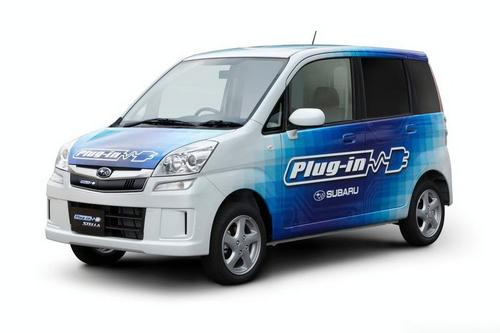 斯巴鲁电动车7月在日本上市-2011年引入中国 日产首款电动车将发布图片