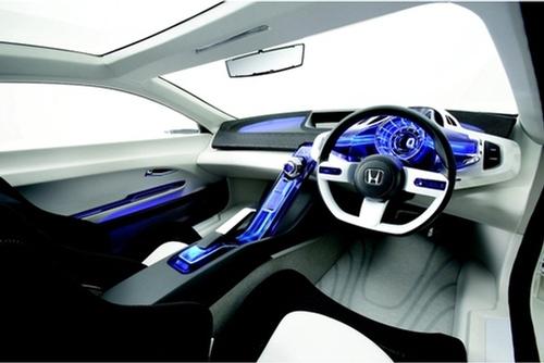 抗衡普锐斯 本田推cr z油电混合动力车 高清图片