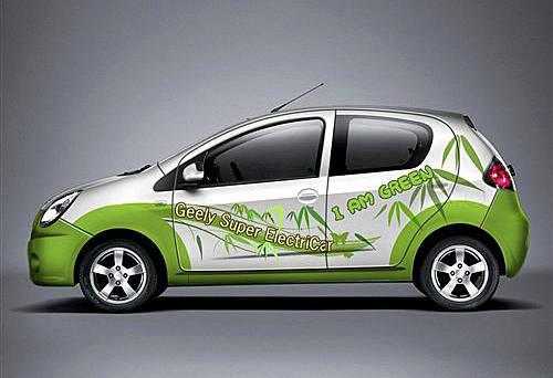 明年推第二代 吉利ek 1电动车年底上市高清图片