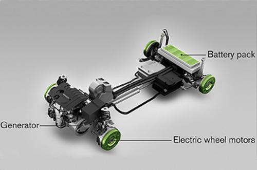 处于概念车阶段 沃尔沃纯电动c30将亮相 高清图片