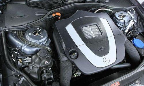 是大肆宣传它的节油减排性能.在美国,S400 Hybrid的售价为9万美金高清图片