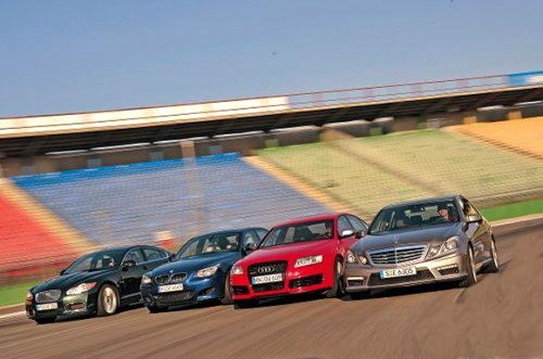 全部超过500马力 顶级高性能轿车对比