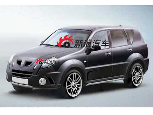名爵SUV谍照-基于双龙车型 荣威名爵第二款SUV曝光