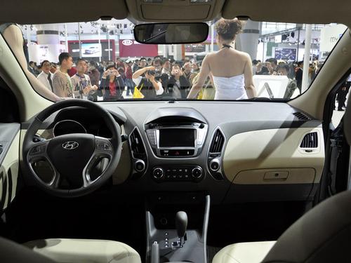 与悦动共线 北京现代ix35明年4月上市