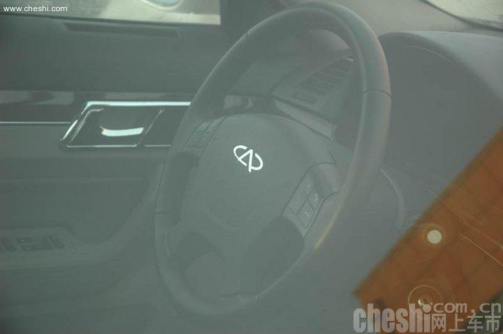 奇瑞首款豪华轿车 瑞麒g6测试谍照曝光 图1高清图片
