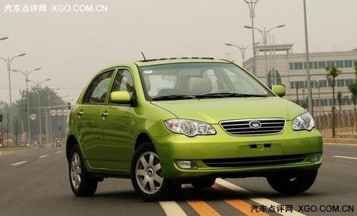 现车降价1万 比亚迪F3R西安最低5.89万