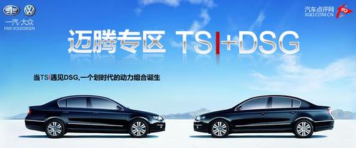 TSI+DSG动力组合 大众迈腾线上技术调查