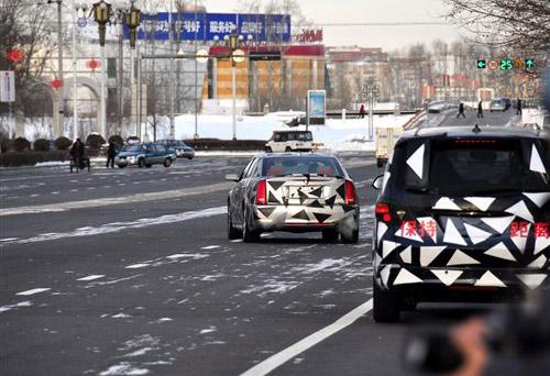 明年即将上市 上海通用2款新车路试谍照