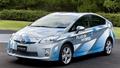 插电的混合动力车 试2012款丰田普锐斯