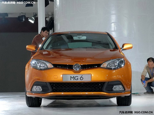 动感时尚新选择 名爵MG6预订2月可提车