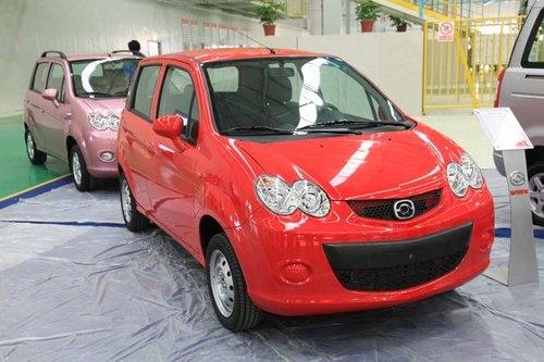 郑州海马发力 首款微车王子春节后上市