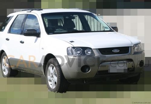 2010年初推出 福特Territory柴油版谍照