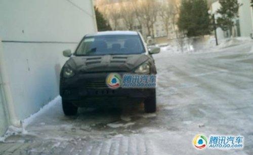 冬季最后试验 北京现代ix35国内谍照!