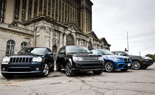 猛犸狂欢节! 对比试驾四款热门大型SUV