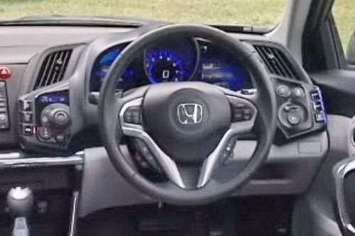 今年2月将首发 本田CR-Z实车图片曝光
