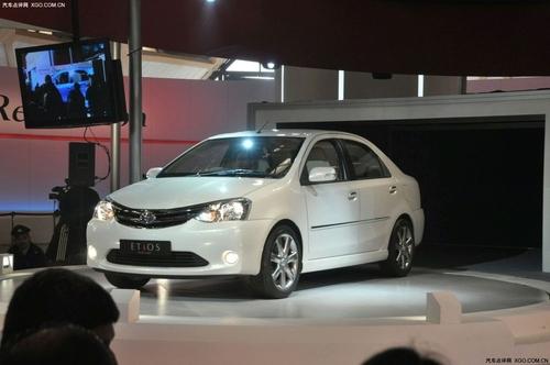 定于年底投产 丰田新车Etios正式发布