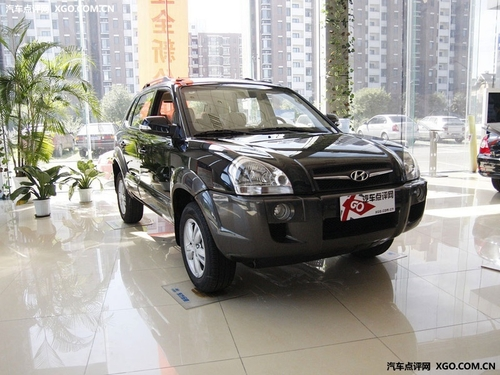 惠高达2万元 北京现代途胜西安有现车高清图片