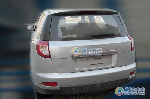 预计8月上市 吉利首款SUV无伪谍照曝光