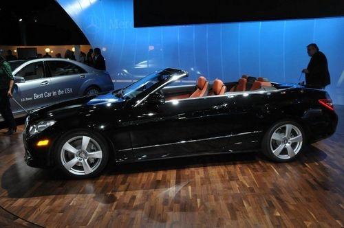 北美国际车展 2011款奔驰E级敞篷车亮相