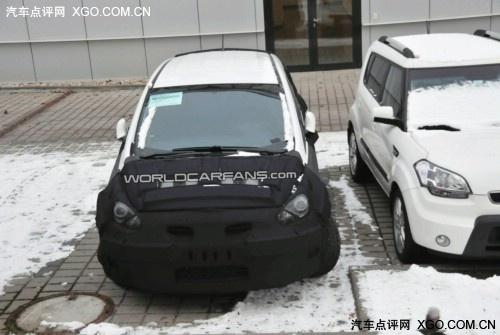 1.7L柴油引擎 现代全新跨界车谍照首曝