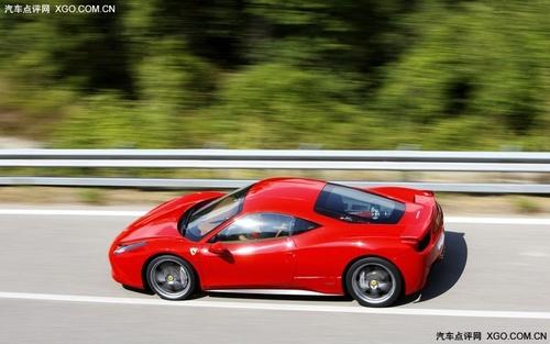 约合189万元起 法拉利458 italia售价高清图片