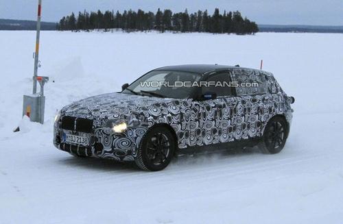 或引入xDrive 宝马1系冬季测试照曝光