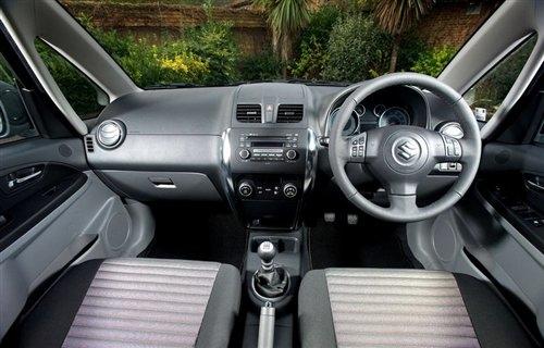 外观细小变动 铃木英国发布小改款SX4