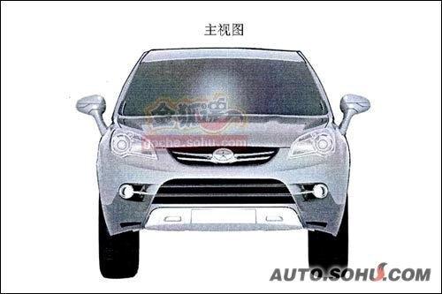 与效果图有差异 江淮新款SUV造型图曝光
