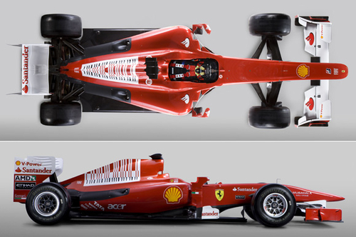 车型命名F10 法拉利车队发布2010款新车