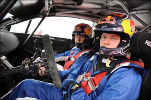 KIMI首次测试雪铁龙C4 期待踏上WRC征程