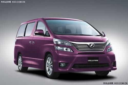 WISH/Alphard 丰田两款MPV今年将国产