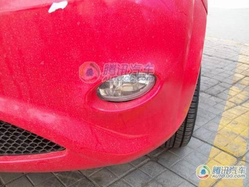 将推1.0L车型 改款奇瑞QQ谍照首次曝光高清图片