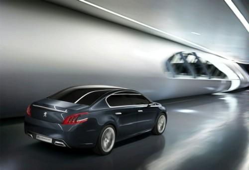 标致508雏形 标致推5 by Peugeot概念车
