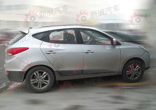 4月上市18万起 北京现代ix35量产版曝光